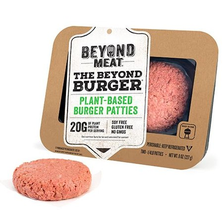 Beyond Meat Burger 1