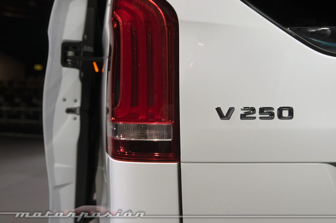 Foto de Mercedes-Benz Clase V (presentación) (27/40)