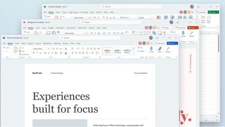 Microsoft muestra el nuevo Office rediseñado que dice adiós a los colores y apuesta por el blanco y gris