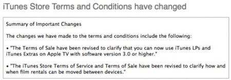 Un cambio en las condiciones de la iTunes Store revela el Apple TV Software 3.0 [ACTUALIZACIÓN: Ya disponible]