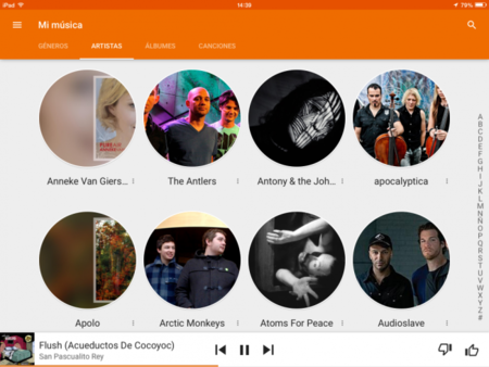 Google Play Music Ipad 5
