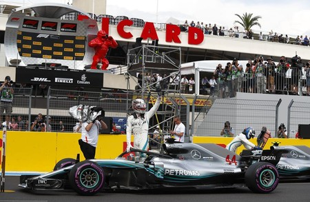Victoria de Lewis Hamilton en Paul Ricard en la vuelta de la Fórmula 1 a Francia