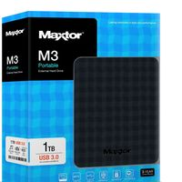 Disco duro externo Maxtor M3, con 1TB de capacidad, por 45,95 euros y envío gratis