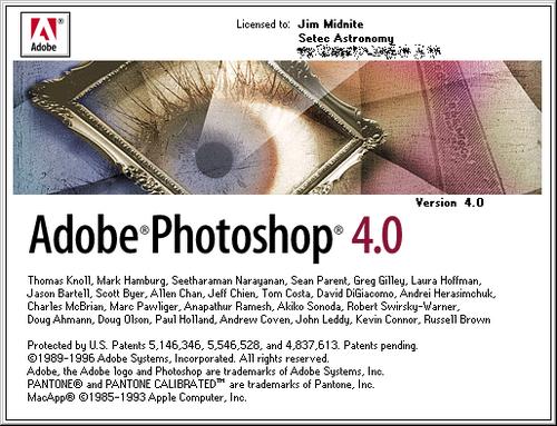 Foto de Evolución de la interfaz de Adobe Photoshop desde 1989 (9/24)