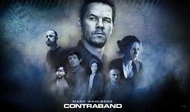 Una imagen con los protagonistas de Contraband