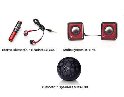 Accesorios de Sony Ericsson para el móvil
