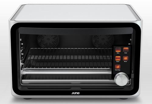El horno más increíble que has visto nunca se llama June y hasta lleva un chip Nvidia