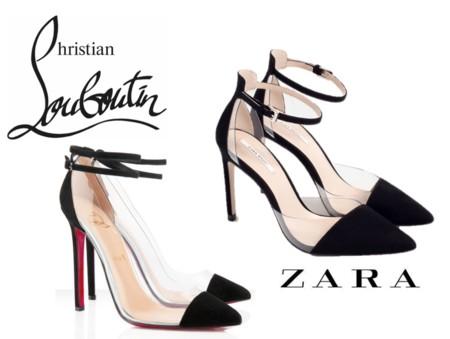 Clonados Louboutin Zara