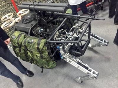 El temible robot de combate ruso es real y estará equipado con un potente armamento