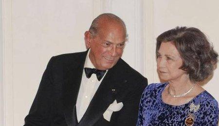 Reina Sofia y Oscar de la Renta