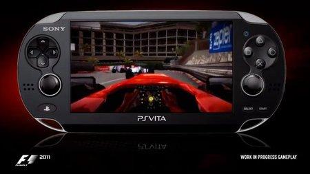 PS Vita se lanzará en Europa junto a F1 2011