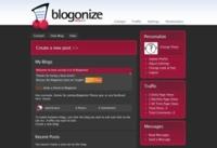 Blogonize, sencillo servicio para la creación de blogs
