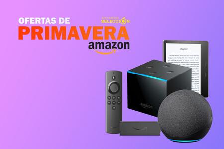 Las ofertas de primavera de Amazon dejan chollos en los Fire TV, altavoces Echo, Kindle y cámaras Ring y Blink: desde 19,99 euros