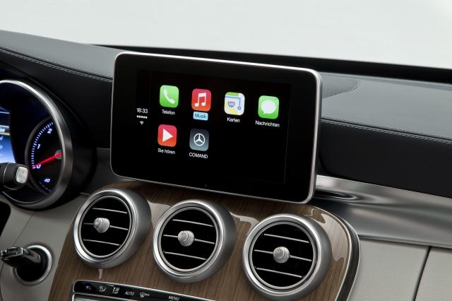 Foto de CarPlay Mercedes Benz Clase C (19/26)