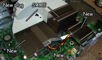 Refrigeración de la Xbox 360 elite