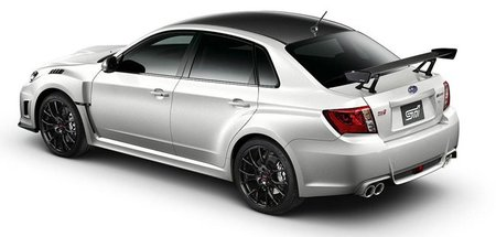 Subaru Impreza WRX STI S206, sólo para Japón