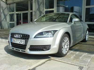 """Fotos """"en directo"""" del nuevo Audi TT"""