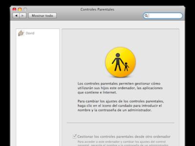 Un vistazo a los controles parentales de Mac OS X Leopard