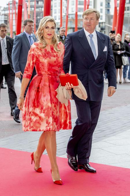 Reina Máxima de Holanda en Dublín