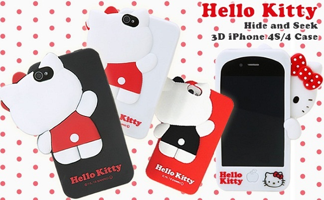 funda hello kitty 3d
