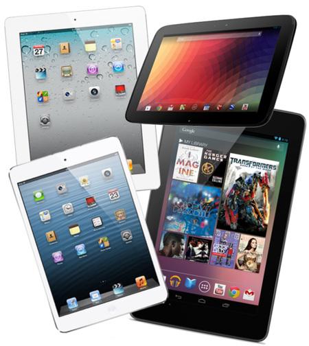 tablet navidad