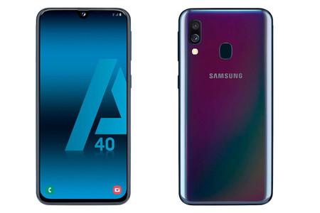 El Samsung Galaxy A40 no se ha presentado oficialmente pero ya se puede comprar en Amazon
