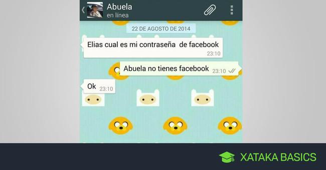 Cómo hacer una captura de pantalla de una conversación entera de WhatsApp en Android