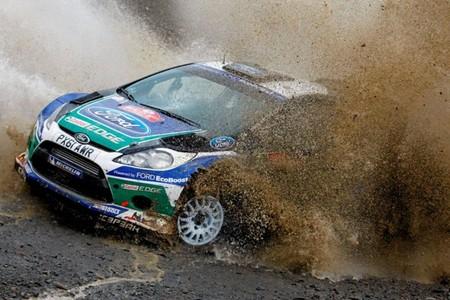 Rally de Gales 2012: los Ford se escapan y Sébastien Loeb se conforma con la tercera plaza