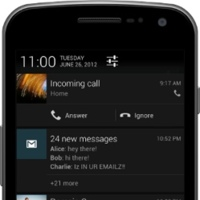 Notificaciones expandibles en Jelly Bean
