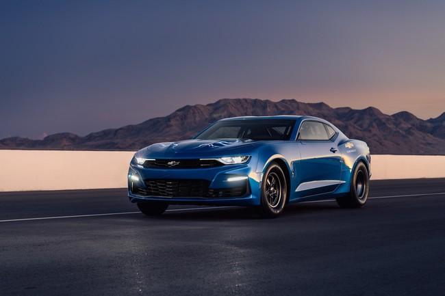 Chevrolet eCOPO Camaro, el concepto de coche eléctrico para carreras que promete pasar de 0 a 100km/h en menos de dos segundos