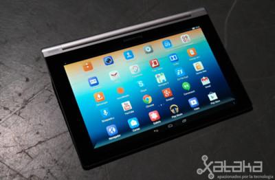 Lenovo Yoga Tablet, toma de contacto