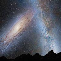 Casi toda la luz del universo es radiación cósmica de fondo