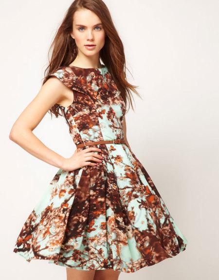 Vestidos Con Falda De Vuelo O Lady Like Bienvenidos Años 50