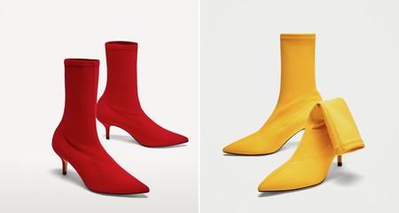 Zara Botines Color Balenciaga