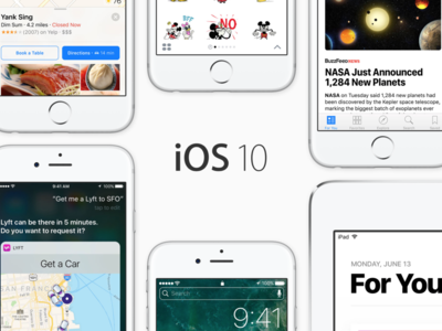 Ya disponible la tercera beta de iOS 10