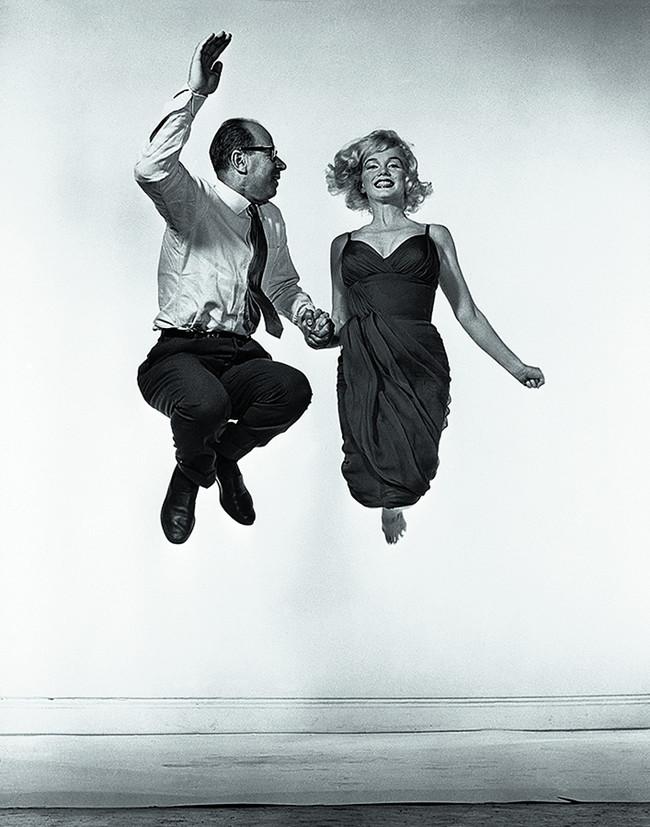 Yvonne Halsman Marilyn Monroe Y Philippe Halsman 1954 Archives Philippe Halsman C 2016 Philippe Halsman Archive Magnum P