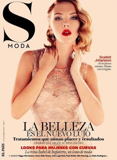 La revista S Moda se apunta otro tanto con otra de sus portadas, ¡oh Scarlett!