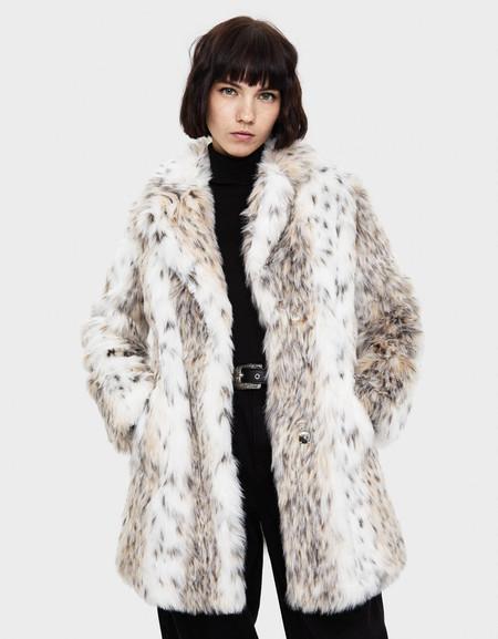 bershka fur