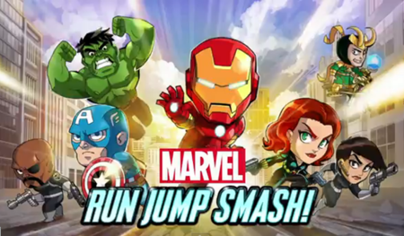 Marvel Run Jump Smash! llega a Windows Phone 8