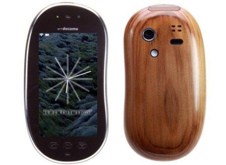 Sharp lanza su móvil con carcasa de madera