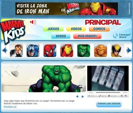 Cómic para niños con Marvel