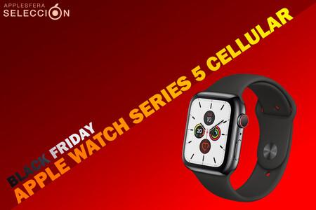 Black Friday 2020: hazte con el Apple Watch Series 5 Cellular de acero por 499,05 euros y llévate otra pulsera de regalo en Amazon