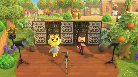 Hay una isla de Gucci en Animal Crossing con Jared Leto como anfitrión y podrás llevarte hasta la manta de recuerdo