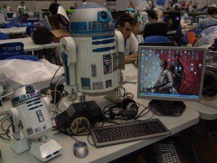 Campus Party: un saludo a los que nos seguís desde allí