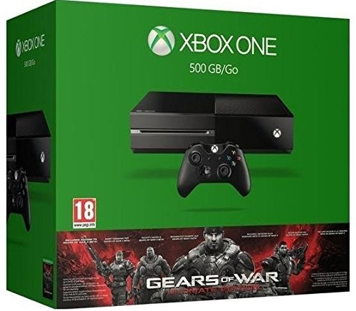 Xbox One de 500GB + Gears Of War: Ultimate Edition