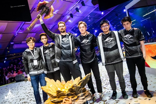 Team Secret lidera el ranking tras ganar el Major de MDL en Disneyland París