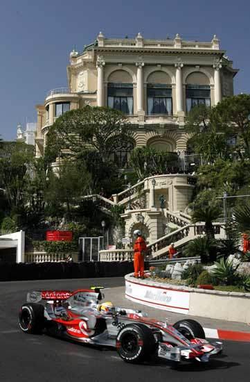 2007 Lewis Hamilton Monaco GP