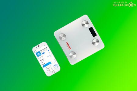 Menos excesos en Semana Santa con esta báscula compatible con Apple Salud: medición de IMC, grasa, agua y más por 12,50 euros