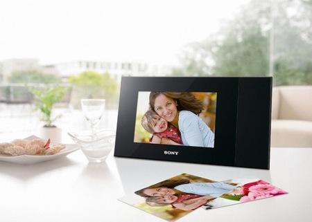 Sony DPP-F700, el marco digital que viene con impresora