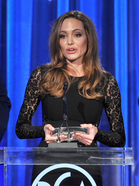 Angelina Jolie The 23rd Annual Producers Guild Awards